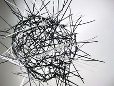 akamundo_sculpture_repetition_pattern_organic_Black_White_Cable_Zip_Ties_Sphere-640x480