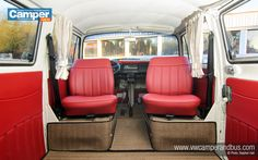 "78 late bay camper van, ""Joey. thinking of rotating captain seats"""