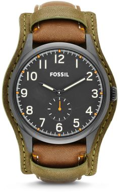 c70e6bd81b9 Fossil The Agent Three-Hand Leather Watch - Brown on shopstyle.com Fossil  Watches