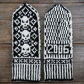 Ravelry: Pirate Mittens pattern by Adrian Bizilia