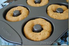 Gluten Free Vegan Pumpkin Doughnuts - try with the new Epicure mini doughnut tray