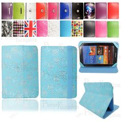 Universal Leather Flip Folio Case Cover Fit For LG G Pad 7 / 7 LTE Tablet 7 Inch