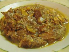 Qorma Lawand (Afghan Stew With Lamb)