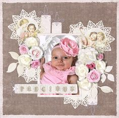 """""""Precious"""" **C'est Magnifique Dec. Kit** - Scrapbook.com"""