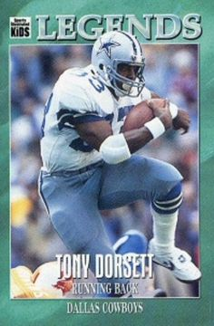 As a member of the Dallas Cowboys, Tony Dorsett became an All-Pro, A Super Bowl Champion, an NFL Legend and was inducted into the Pro Football Hall of Fame. For booking information contact