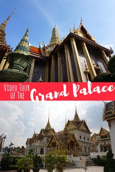 The Grand Palace in Bangkok is one of the most beautiful buildings in the world! Come explore the palace and temple grounds in this video tour!