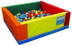 I have never been in a ball pit, because when I was a kid I was too scared to go in one with other kids I didn't know. One day, I will have my chance in a  ball pit! lol.