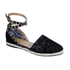 Love Shop Share Lace espadrille - Ballettonet