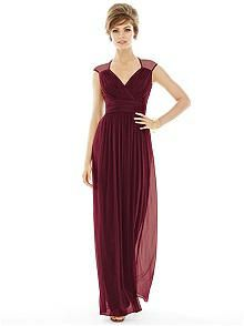 Dessy Collection Style 2955 Sample Aubergine Size 16 Bridesmaids Pinterest Weddings