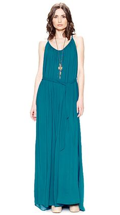 @Riller & Fount Toluca dress in Peacock