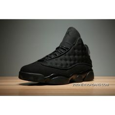 "6fa8d709421268 Air Jordan 13 ""Black Cat"" Black Anthracite-Black Men s And Women s Size  414571-011 2020 Authentic"