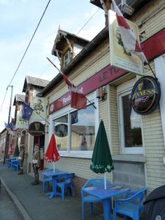 Le Tommy where we had lunch in Pozieres, France.