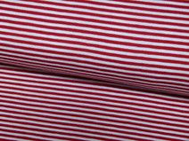 Stenzo Jersey Ringel Streifen rot/weiß