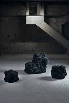 the Mutation Series by Belgian designer Maarten De Ceulaer express the need for nature-inspired design in modern homes. Wanting to show a possible future for furniture items, the unusual-looking series explores the future possibility of growing organic furniture, similar to cloning animals.