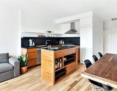 A Chic Corner Kitchen