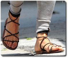 K. Jacques Bikini Gladiator Sandals – Michelle Rodriguez