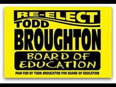 Re-Elect Todd Broughton Board Of Education Kingsport, TN