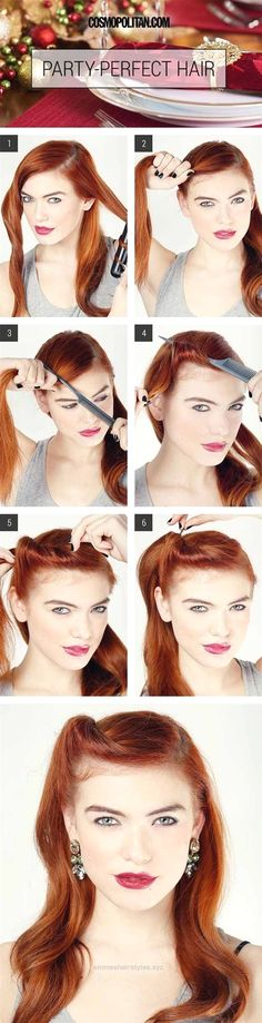 Check it out Best Hairstyles For Your 30s -Party Perfect Glam Roll- Hair Dos And Don'ts For Your 30s, With The Best Haircuts For Women Over 30, Including Short Hairstyle Ideas, Flattering Haircuts Fo ..