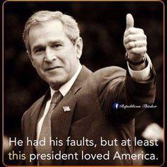 George Bush: Best. President. Ever.