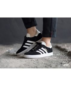 huge discount e5903 dcbbd Adidas Gazelle Mens Trainers In Black White Adidas Gazelle Mens, Adidas  Men, Grey Trainers