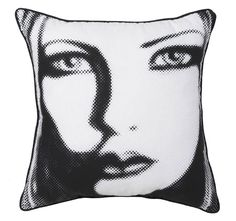 selfie-41x41cm-filled-cushion-black Cushions, Selfie, Logan, Black, Throw Pillows, Toss Pillows, Black People, Pillows, Scatter Cushions
