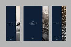 The Midland menu and wine list.