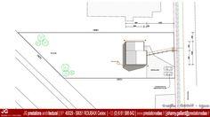 15-1037 - JG Dessin Architectural - Plan Masse pour Permis de construire pour une petite maison de 75 m² à THIENNES (59189) entre Hazebrouck et Béthune dans le Nord – Pas De Calais (59 - 62) - www.prestationsdao.fr