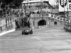Graham Hill in the BRM, Monaco 1962