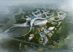 Gallery of Pan African Games Masterplan Competition Entry / Group IAD - 1