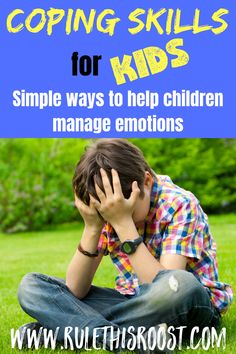 Coping Skills for Kids: Simple Ways to Help Children Manage Emotions. How to help kids cope is a hard topic, but it doesnt have to be. There are simple solutions that will help your child learn to deal with whatever comes their way. Parenting Teens, Good Parenting, Parenting Hacks, Parenting Plan, Slimming World, Grease, Emotional Child, Mindfulness For Kids, Muscle