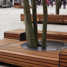 XXL-banken op Zaailand Leeuwarden, NL. Click image for details and visit the slowottawa.ca boards >> http://www.pinterest.com/slowottawa/
