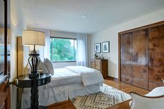 One of the 7 luxurious bedrooms in this Upper Rancho property in California.