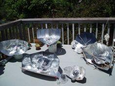 an array of windshield sun visor solar cookers Survival Food, Camping Survival, Survival Skills, Survival Stuff, Oven Diy, Solar Cooker, Solar Oven, Emergency Preparedness Kit, Outdoor Gadgets