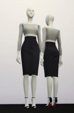 S4_ Basic High Waist H Line Pencil Dress _Solid (8 Color) : 네이버 블로그