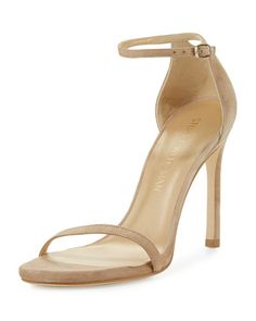 f813b31d0cd48f Nudistsong Suede Ankle-Wrap Sandal