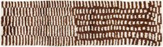 Vintage Brown Turkish Tulu Runner - 2′8″ × 10′3″ on Chairish.com