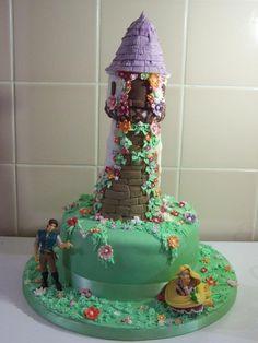 disney frozen cake | Disney Tangled Rapunzel Birthday Cake — Children's Birthday Cakes