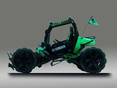 ArtStation - Yamaha Buggy Concept, David Cottrell-Jones