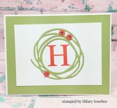 Stampin'Up! Swirly Scribbles Thinlits Dies, happy mail, inkbigacademystamps