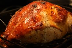 It's Thanksgiving Week! Herb Roasted Turkey Breast with Pan Gravy  http://thegourmandmom.com/2010/11/08/its-thanksgiving-week-herb-roasted-turkey-breast-with-pan-gravy/#