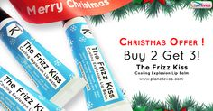 #Christmas Offer ! Buy 2 Get 3  #Kronokare Cooling Explosion #Lip #Balm. Offer valid till 31st December only. Get Rs.200 Discount on Register, Cash on Delivery, Easy Returns.