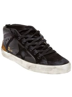 Golden Goose Brogue Mid Tops, Available in Store! x