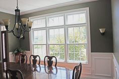 Dining Room - love the paneling