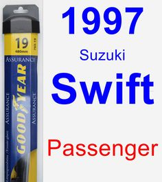 Passenger Wiper Blade for 1997 Suzuki Swift - Assurance