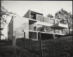 Van Slobbe House, Heerlen the Netherlands (1964) | Gerrit Rietveld | Rietveld Schröder Archives, Central Museum