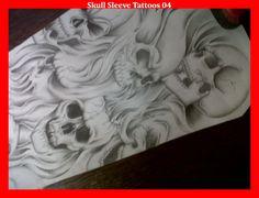 Skull Sleeve Tattoos 04