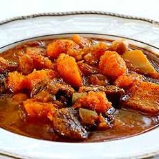 Spicy Lamb Stew with Butternut Squash