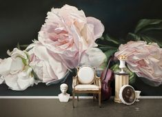area environments Pink+Interior peonies christine dovey