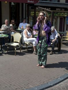 Yo bruh, it ain't 1972 anymore. Dude came here looking for a better way and love amongst all people and found McDonald's and Geert Wilders. Get with the program and lay that wack hippie swag to rest...