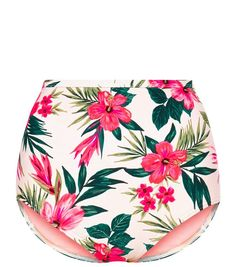 Discover the latest trends at New Look. Swimsuits, Bikinis, Swimwear, Floral Swimsuit, High Waisted Bikini Bottoms, White Shop, Boho Shorts, New Look, Latest Trends